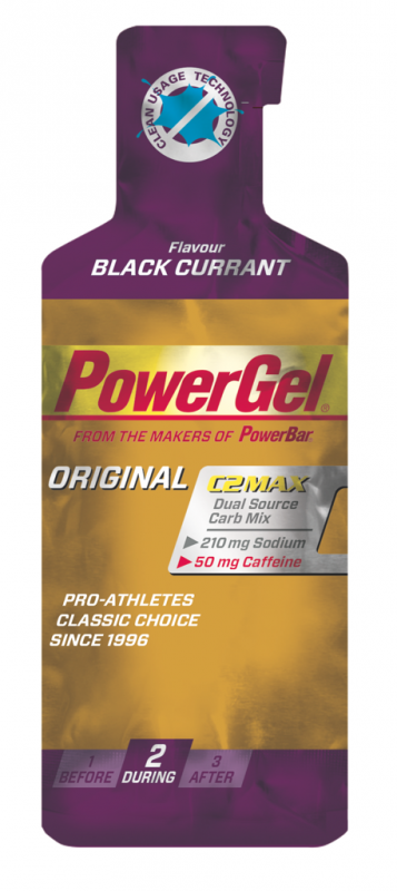 PowerBar PowerGel black currant