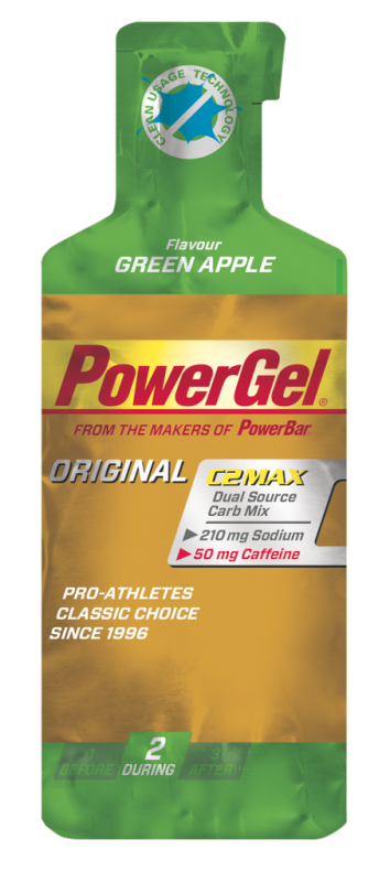 PowerBar PowerGel green apple