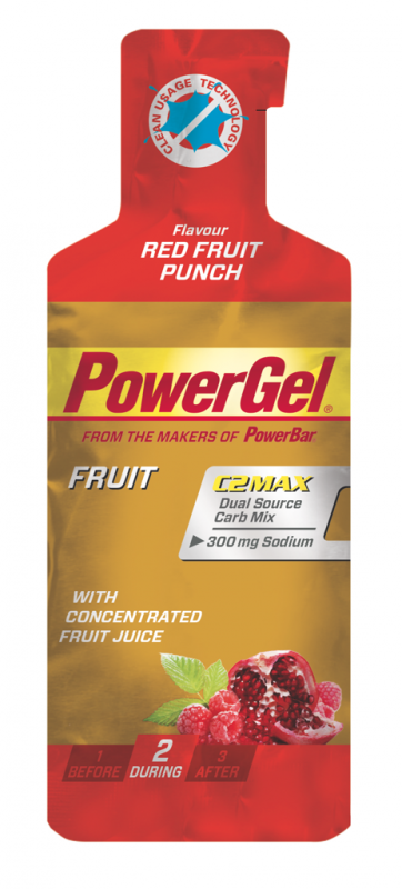 PowerBar PowerGel red fruit punch